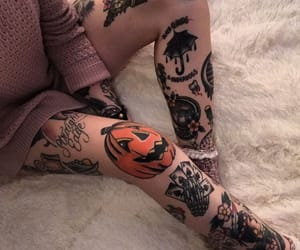 Halloween, horror, and Tattoos image