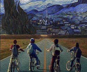 art, pop culture, and stranger things image