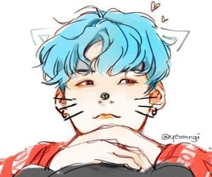 fanart, bts, and cute image