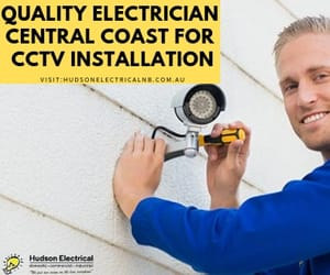 cctv installation and electrician central coast image