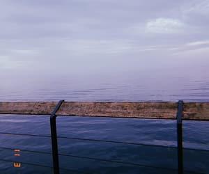 blue, memory, and sea image