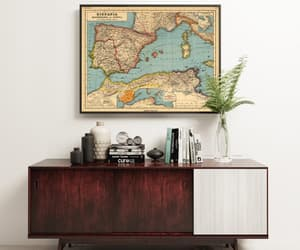 etsy, old map, and vintage map image