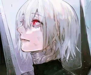 tokyo ghoul, kaneki ken, and :re image
