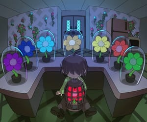 flowers, kris, and souls image