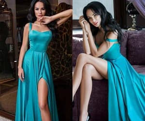 beauty, trends, and formal dresses image
