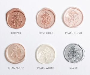 aesthetic, silver, and rose gold image