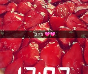 home made, tartelettes, and tarte aux fraises image