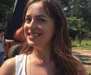 actress, smile, and dakota johnson image