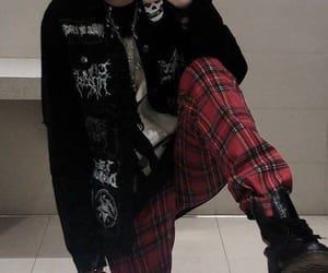 grunge, aesthetic, and goth image