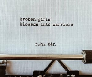 quotes, warriors, and blossom image