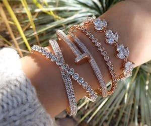 accessories, bracelets, and golden image