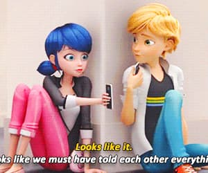 Adrien, anime, and marinette image