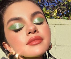 selena gomez, selena, and makeup image