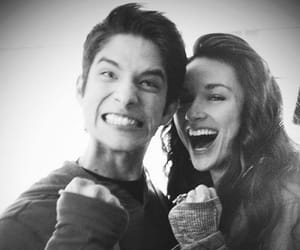 allison, black and white, and teen wolf image