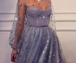 dress, fashion, and stars image