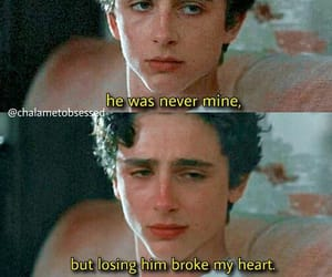 love, call me by your name, and timothee chalamet image