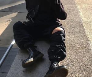 boy, dark, and grunge image