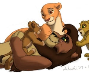 disney, fable, and lion king image