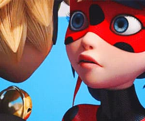 Adrien, ladybug, and anime image