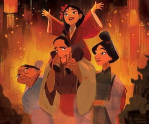 disney, china, and family image