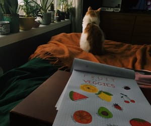 art, cat, and cats image