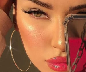 blush, eyebrows, and eyelashes image
