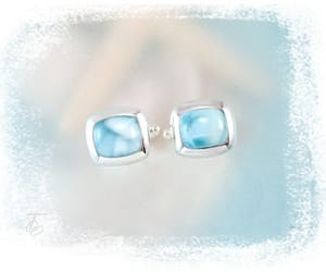 cuff links, larimar, and men jewelry image