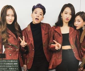 amber, victoria, and kpop image