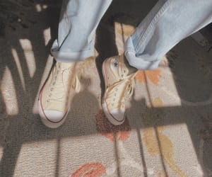 aesthetic, beige, and converse image