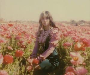 celebrity, flower field, and melanie martinez image