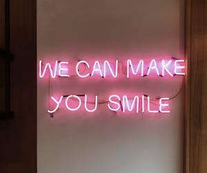 inspiration, neon, and quotes image