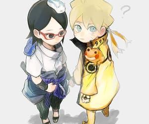 anime, cute, and uzumaki boruto image