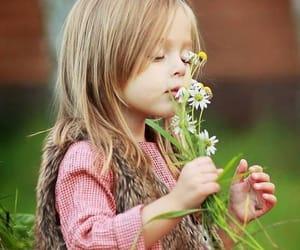 child, children, and daisy image
