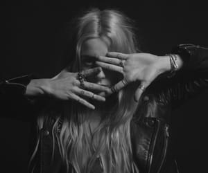 b&w, black and white, and chloe norgaard image