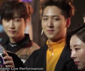 JYP, sunwoo, and b1a4 image