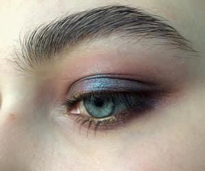 aesthetic, blue, and blue eye image