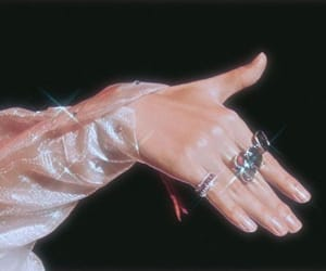 hand, v, and bts image