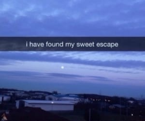 escape, grunge, and sky image