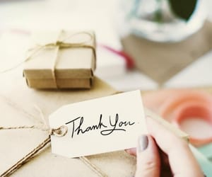gift, thankyou, and thnx image