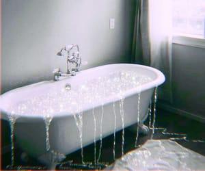aesthetic, bath, and bubblebath image