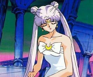 anime, luna, and sailor moon image