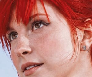 beauty, hairstyle, and paramore image