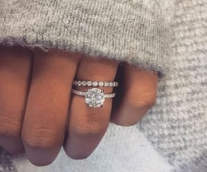 accessories, diamonds, and ring image