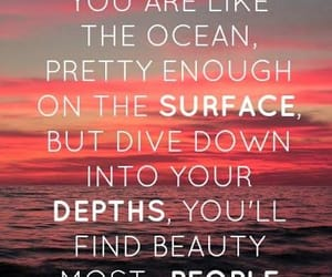 beautiful, enough, and quotes image