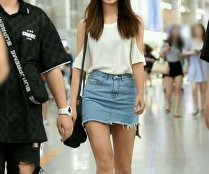 kpop, twice, and airport fashion image