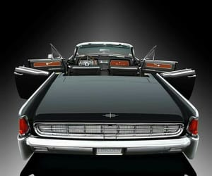 classic cars, chrome detailing, and modest fins image