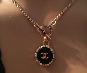 chanel, necklace, and jewelry image