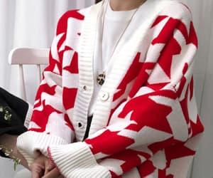 asian, asian fashion, and cardigan image