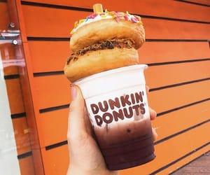 dunkin donuts image
