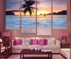 cuadros, habitacion, and decoracion image